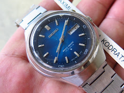SEIKO BELLMATIC SUNBURST BLUE DIAL - AUTOMATIC 4006 7000