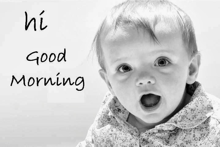 Good Morning Baby Cute : Good morning wallpapers happy new year