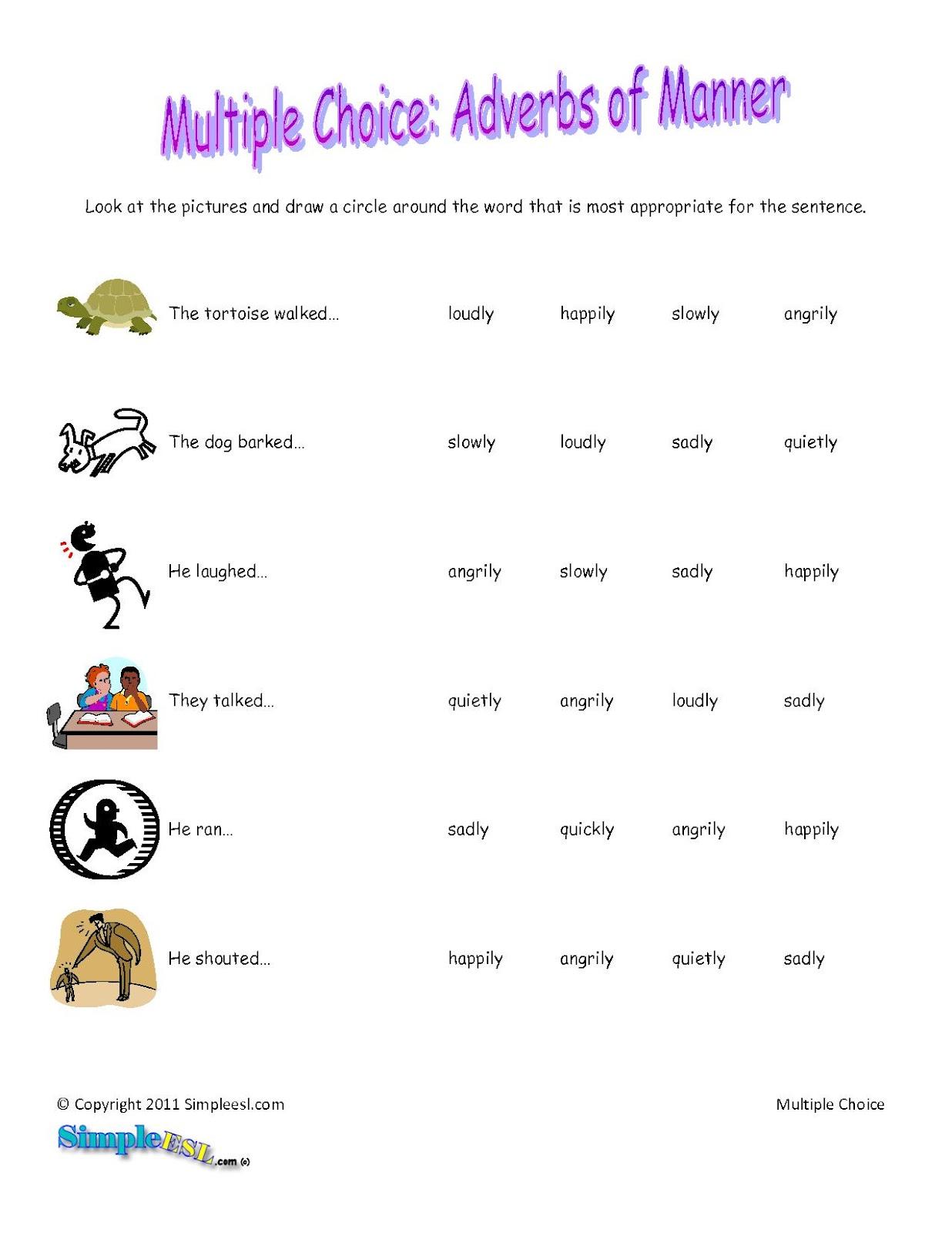 Adverbs Julio 2012