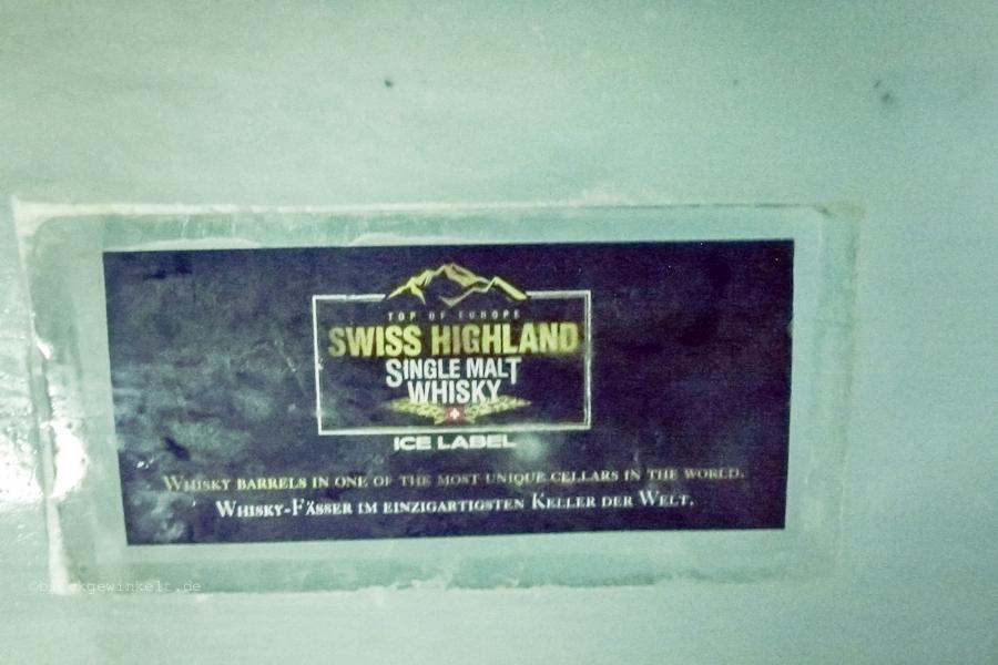 Wisky-Werbung im Eisstollen