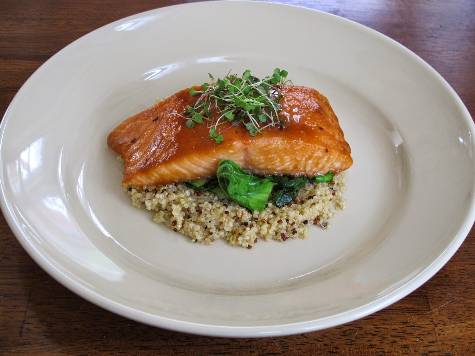 Sweet Miso Glazed Salmon