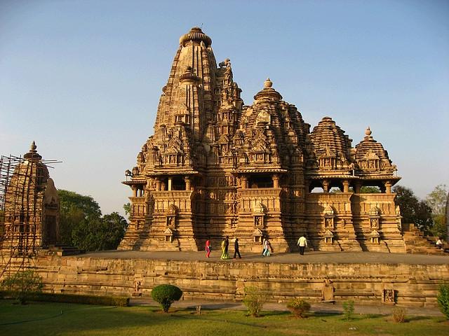 Complex Monuments Khajuraho