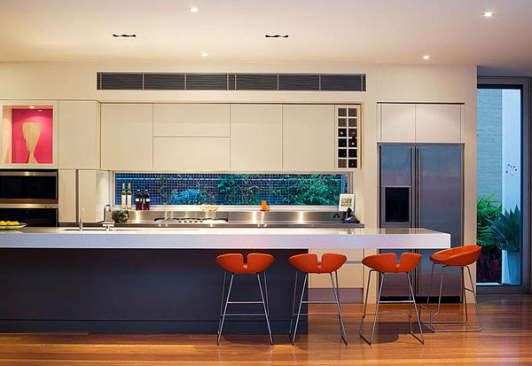 House design modern australian modern house plans for Modern kitchen design australia