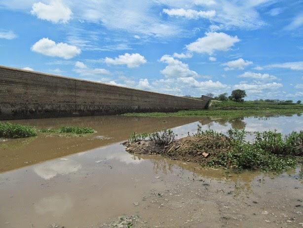 Resultado de imagem para barragem de brotas afogados da ingazeira