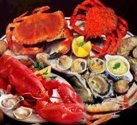 makan seafood menyebabkan asam urat