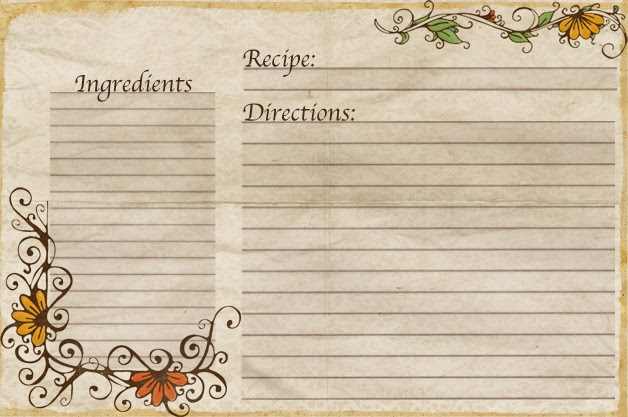 free editable recipe card templates for microsoft word - aletheia free recipe cards made by yours truly