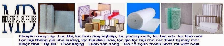 Sản xuất bông lọc bụi G1, G2, G3, G4 | Bông lọc khí dày 5mm, 10mm, 15mm, 20mm tại Hà Nội
