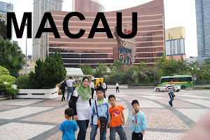 PERCUTIAN KE MACAU: