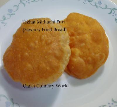 marathi tikhat mithachi puri
