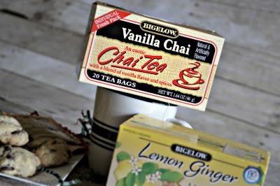 Vanilla Chai Tea and Scones