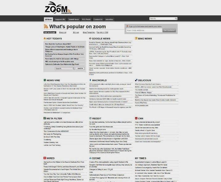 Zoom Feed Aggregator