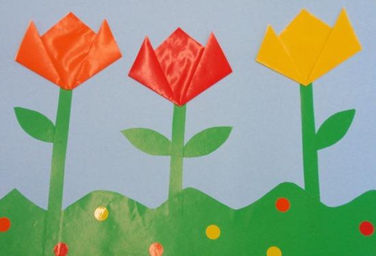 Manualidades para niños de primavera - Imagui