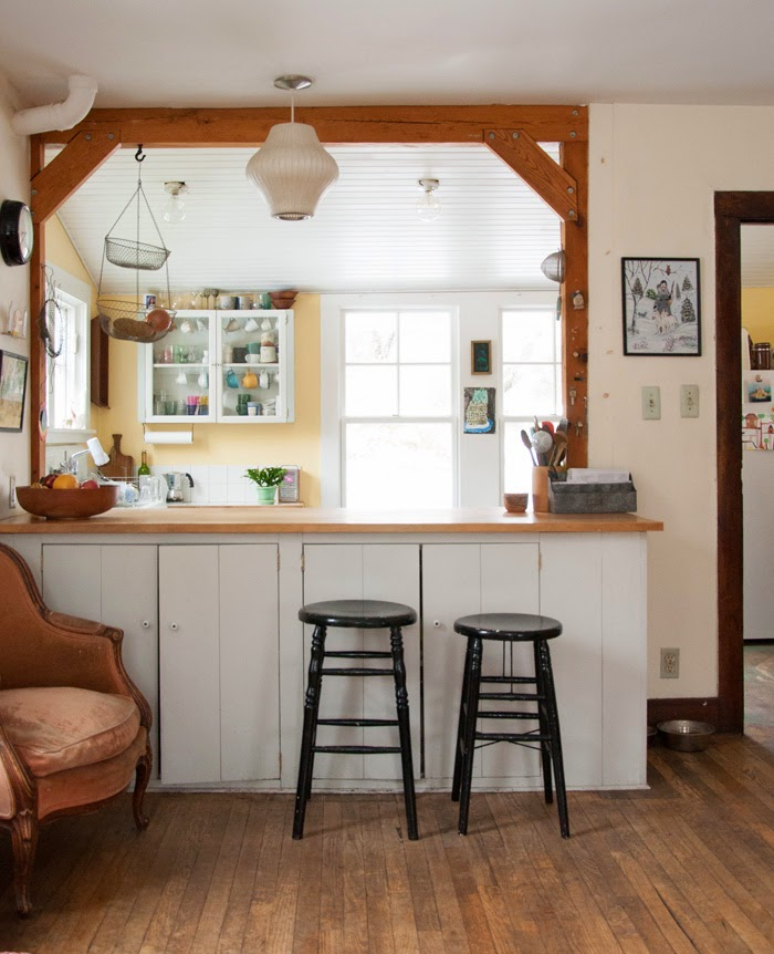 The 1970s Kitchen Was Torn Out When The Couple Moved In And Replaced