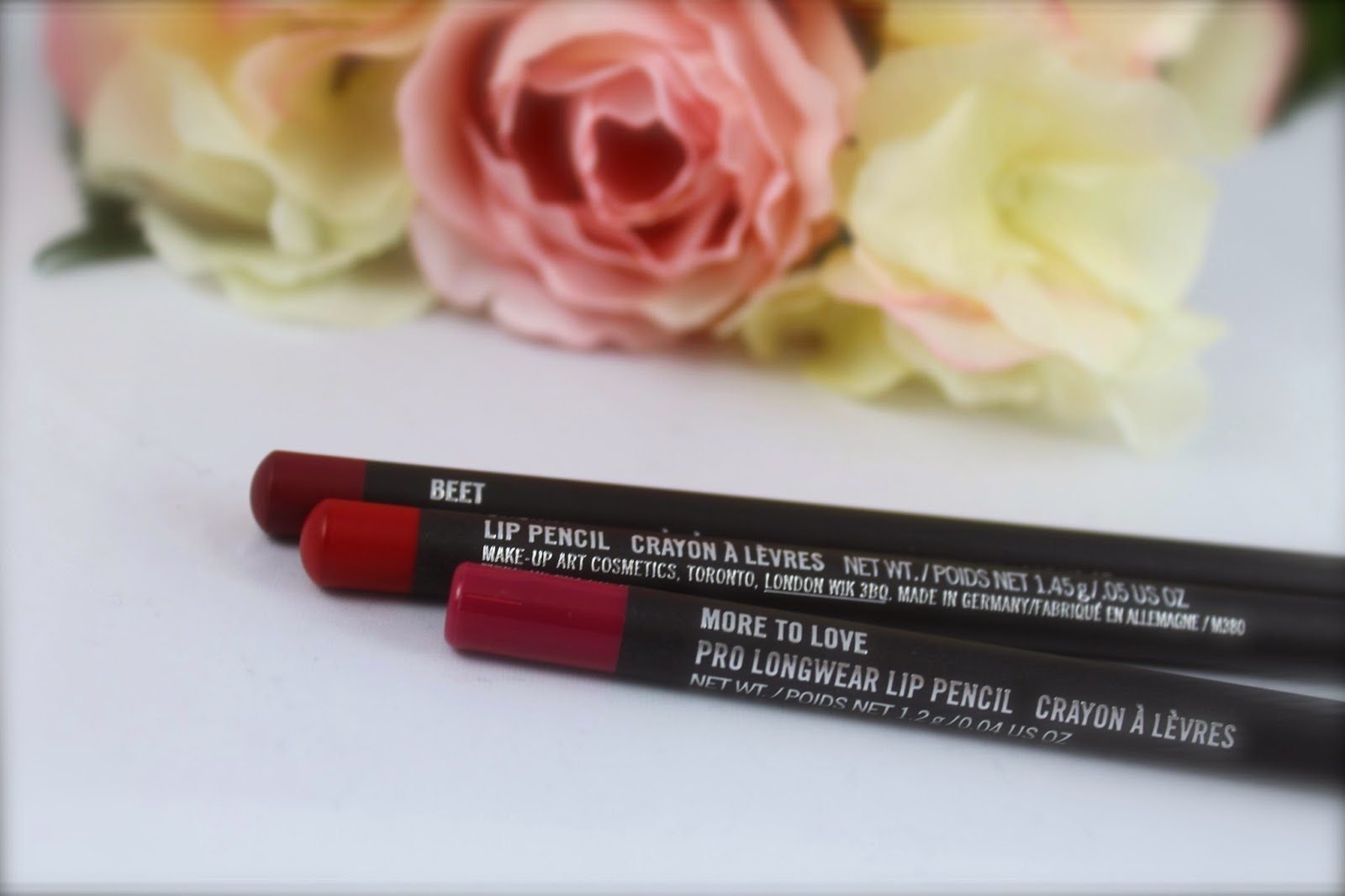 mac lip pencil beet more to love cherry swatches