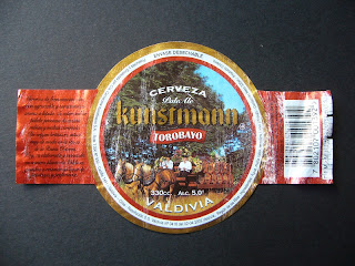 Chilean beer Kunstmann Torobayo