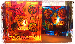 Tatjana Dimitrijevic Painting on glass