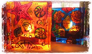 Tatjana Dimitrijevic Painting on glass