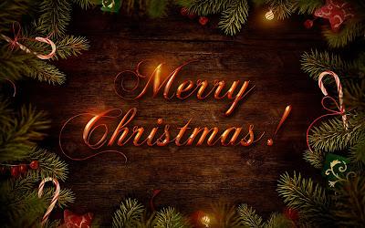 Fondos de Navidad con adornos y mensajes