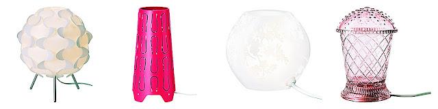 Ikea, światło, lampki, Lampy