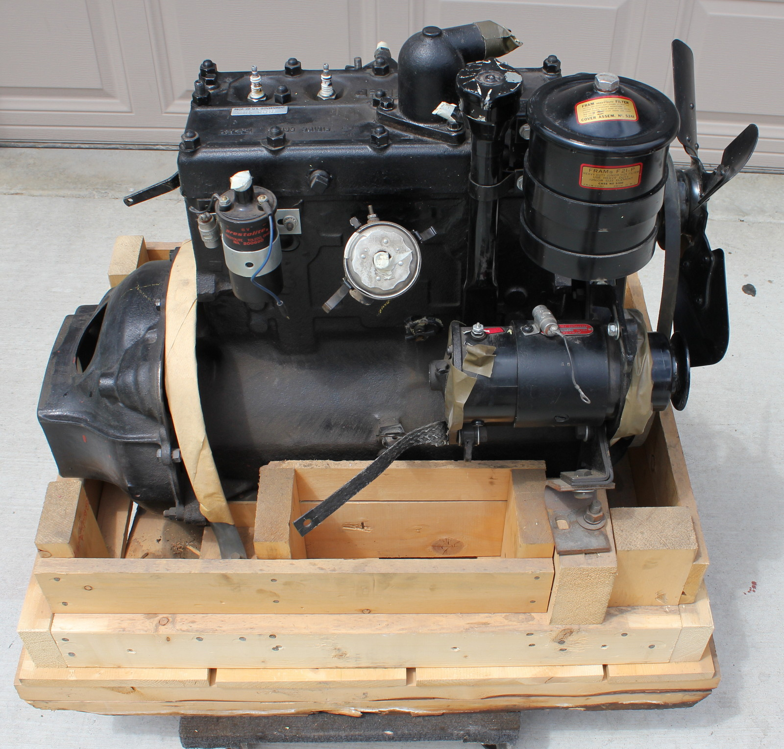 Jeep Willys Mb Engine, Jeep, Free Engine Image For User