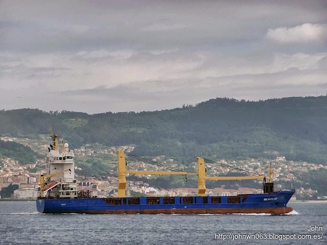 fotos de barcos, imagenes de barcos, bbc scotland, carga general, vigo