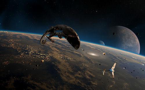Actividad espacial - Space Activity (1920x1200px)