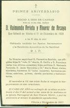 RAIMUNDO ARRIETA Y ALVAREZ DE ARCAYA