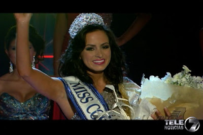 María Nazareth Cascante Madrigal Crowned Miss Costa Rica 2012