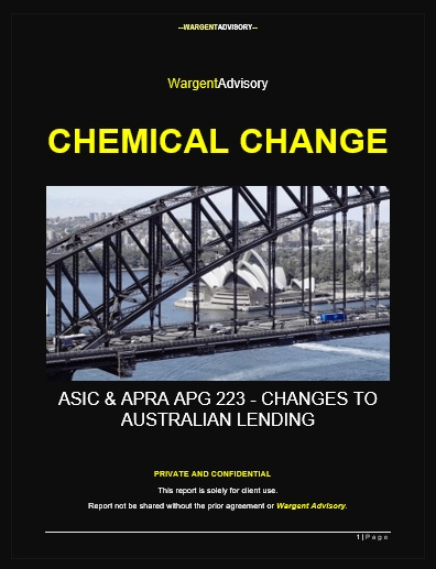 SPECIAL REPORT: CHEMICAL CHANGE (IMPACTS OF ASIC & APG 223)