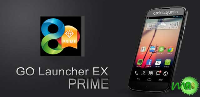 GO Launcher Prime 1.3 APK For Android Free Download