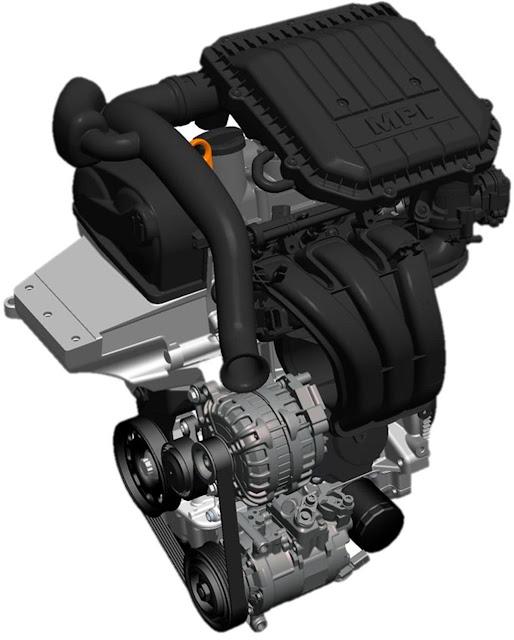 Motor do novo Fox 2014