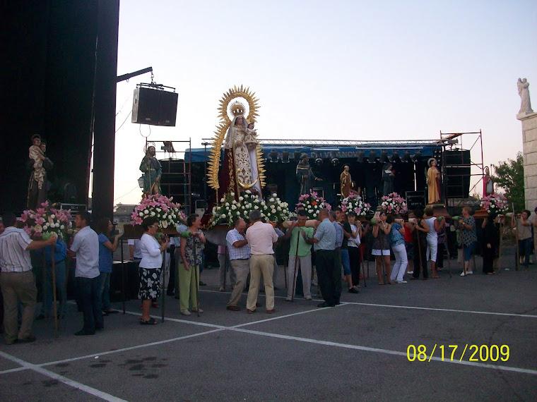 El dia 15 de agosto NUESTRA SEÑORA (ASUNCION DE MARIA)