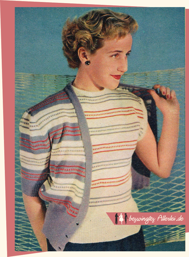 50er Jahre, kostenlos, Vintage, Pullover, Twinset