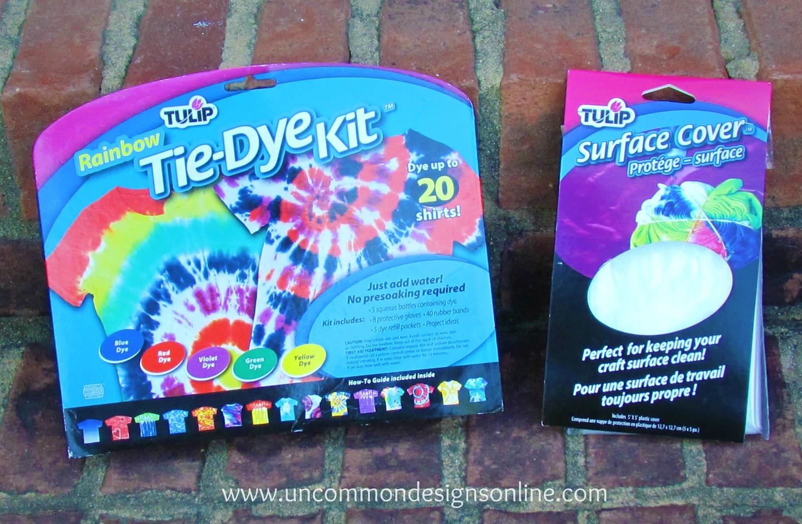 Dyed fabric garland dip dyed fabric garland a tulip tie dye tutorial baditri Gallery