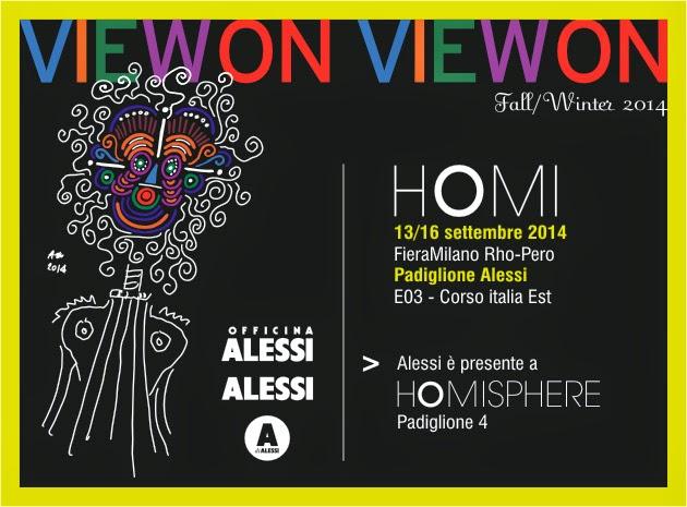 Alessi a Homi di settembre 2014