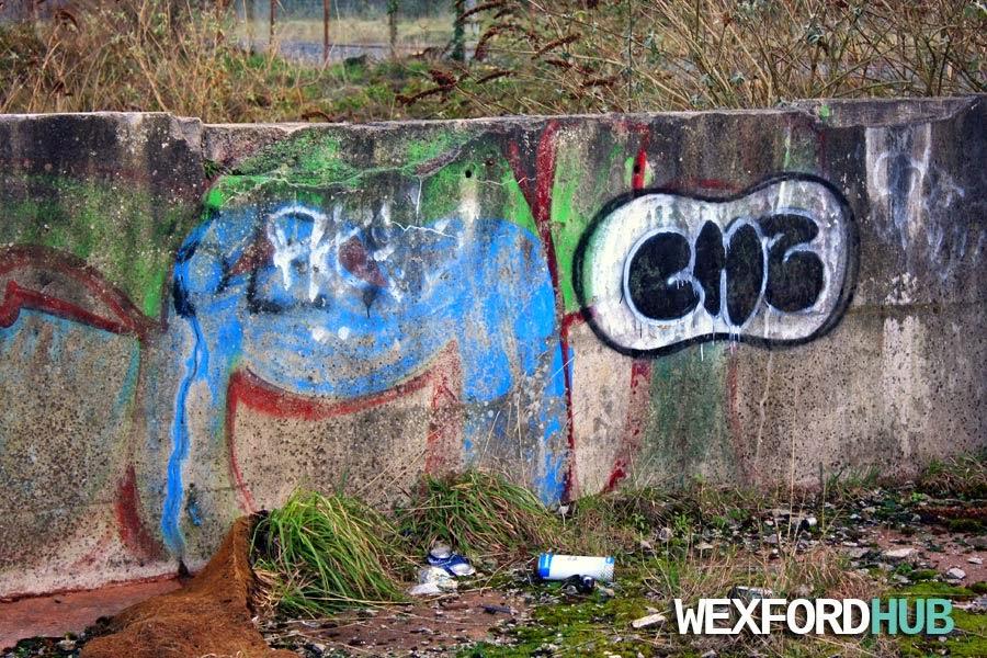 Examples of graffiti in Ireland.