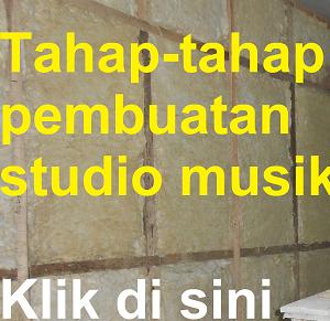 Pembuatan Studio Musik Dinur