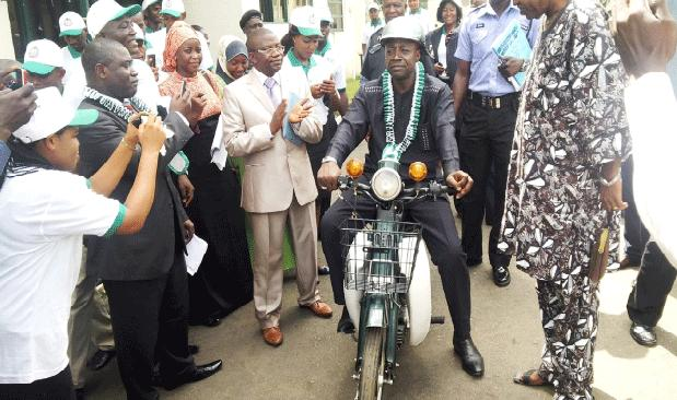 Photo: First Motorcycle Produced In Nigeria