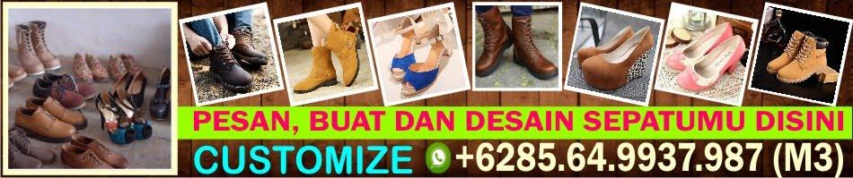 Sepatu Custom Wanita, Sepatu Custom Pria, Sepatu Custom Malang