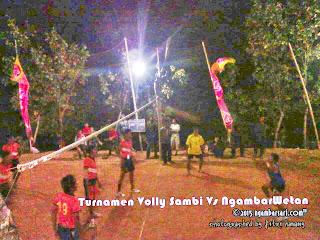 Sambi Vs Ngambarwetan - Semifinal Volly Putra Ngambarsari
