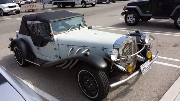 5k: Joker Approved: 1929 Gazelle Mercedes SSK Kit Car