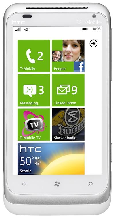 HTC Radar 4G Segera hadir Di T Mobile