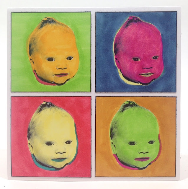 warhol inspired baby picture lisa fulmer