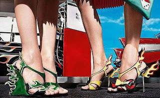 zapatos pintura coches