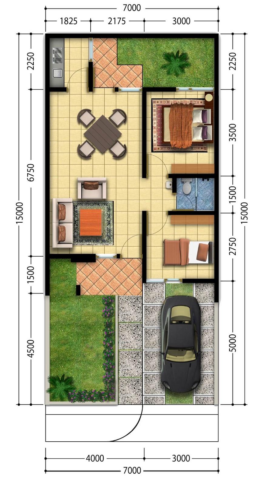kumpulan denah rumah minimalis terbaru