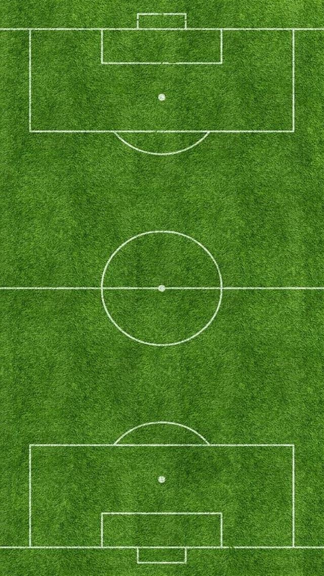 Cute Green Football Field Iphone 5 Backgrounds