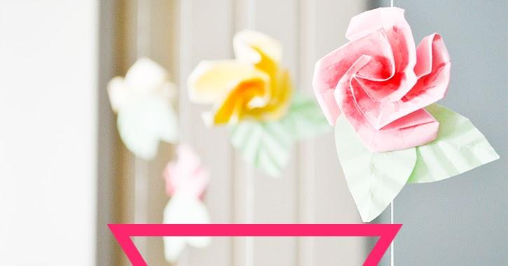 Craft A Doodle Doo Inspiration Nation Diy Origami Flower Curtain