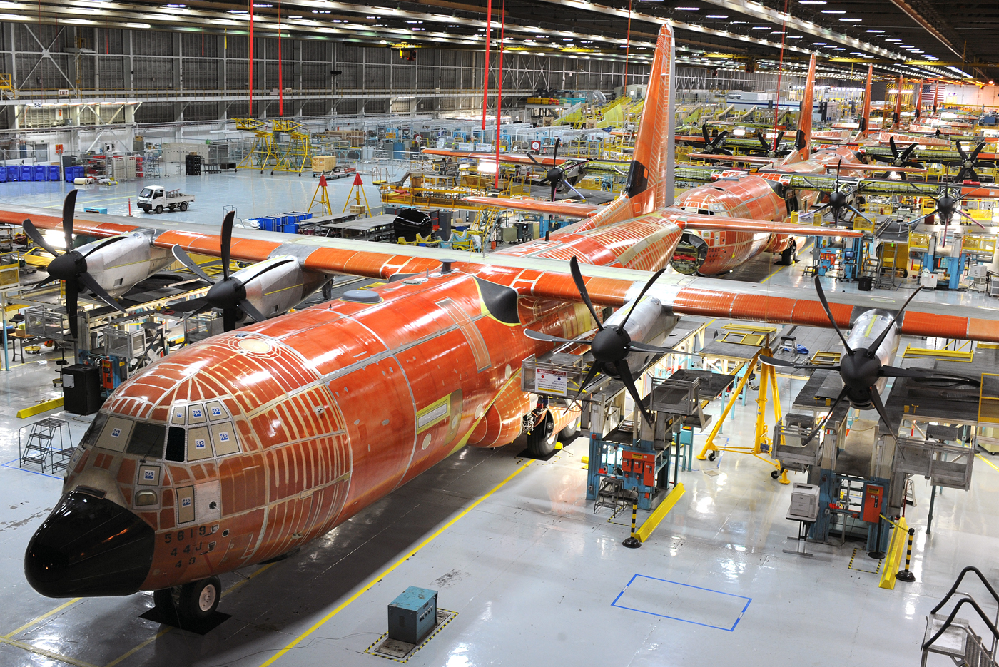 Lockheed Martin CJ Hercules C L Aircraft Picture