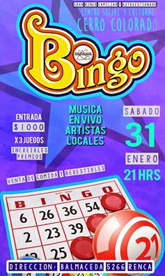 RENCA: BINGO FAMILIAR Y AUTOGESTIONADO