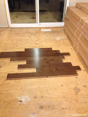 "Lauzon Maple ""Macadamia"" hardwood flooring"